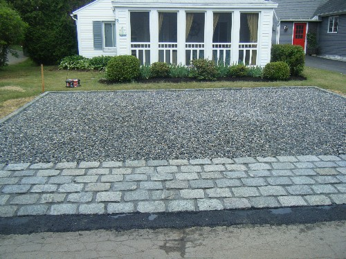 Stone and Paver Apron